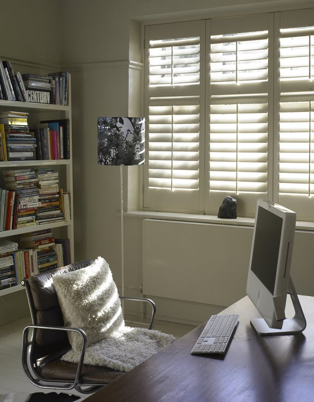 budget decorating tips DIY Shutters